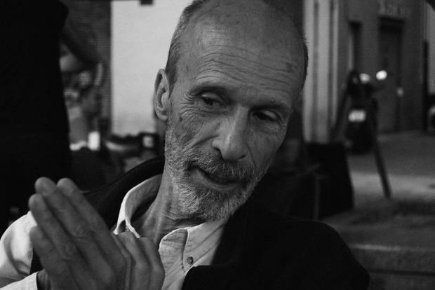 Retrato a Alberto Jonquières (III). Autor: Nacho Errando.