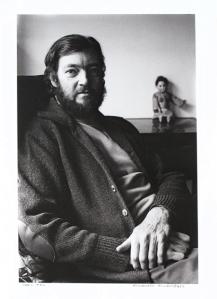 Retrato a Julio Cortázar, 1976. © Alberto Jonquières.