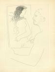'Pintor ante su cuadro', Grabado para ilustrar el libro 'La obra maestra desconocida', de Honoré de Balzac. Pablo Picasso, 1931.